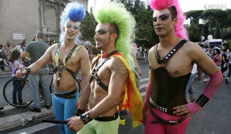Сексуальная жизнь геев и лесбиянок